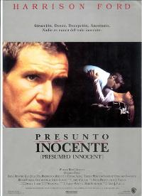 Presumed Innocent - 27 x 40 Movie Poster - Spanish Style A