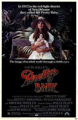 Pretty Baby - 27 x 40 Movie Poster - Style A