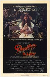 Pretty Baby - 43 x 62 Movie Poster - Bus Shelter Style A
