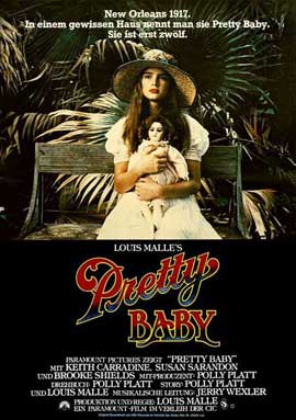 Pretty Baby - 11 x 17 Movie Poster - German Style A