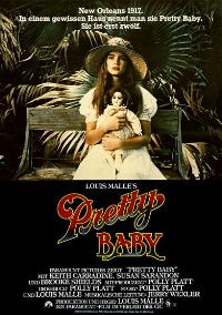 Pretty Baby - 27 x 40 Movie Poster - German Style A