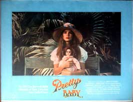 Pretty Baby - 11 x 17 Movie Poster - UK Style A