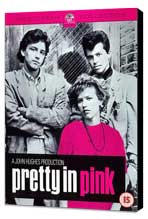 Pretty in Pink - 11 x 17 Movie Poster - Style B - Museum Wrapped Canvas