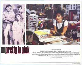 Pretty in Pink - 11 x 14 Movie Poster - Style C