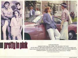 Pretty in Pink - 11 x 14 Movie Poster - Style D