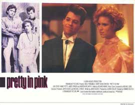 Pretty in Pink - 11 x 14 Movie Poster - Style E