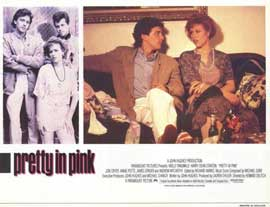 Pretty in Pink - 11 x 14 Movie Poster - Style F