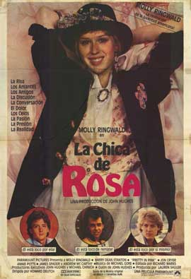 Pretty in Pink - 11 x 17 Movie Poster - Italian Style A