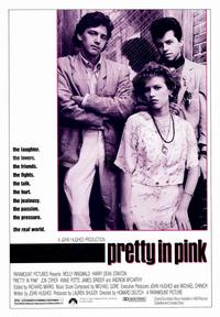 Pretty in Pink - 43 x 62 Movie Poster - Bus Shelter Style A