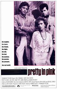 Pretty in Pink - 11 x 17 Movie Poster - Style A - Museum Wrapped Canvas