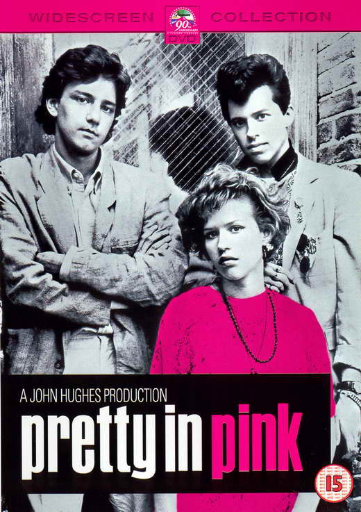 Movie Posters Television  TV  Posters Broadway Posters Pulp Posters    Pretty In Pink Poster