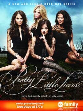 Pretty Little Liars - 11 x 17 TV Poster - Style A