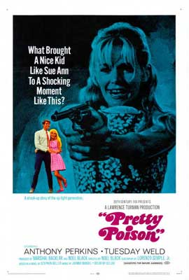 Pretty Poison - 11 x 17 Movie Poster - Style B