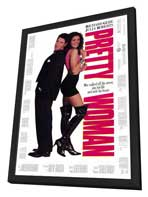 Pretty Woman - 11 x 17 Movie Poster - Style B - in Deluxe Wood Frame