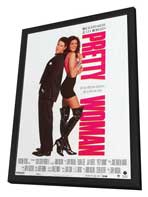 Pretty Woman - 11 x 17 Movie Poster - French Style A - in Deluxe Wood Frame