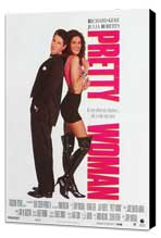 Pretty Woman - 11 x 17 Movie Poster - French Style A - Museum Wrapped Canvas