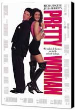 Pretty Woman - 27 x 40 Movie Poster - Style A - Museum Wrapped Canvas