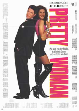 Pretty Woman - 11 x 17 Movie Poster - German Style A