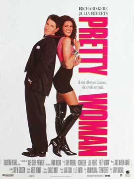 Pretty Woman - 27 x 40 Movie Poster - French Style A