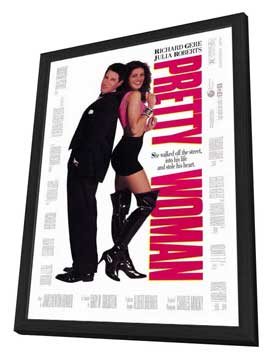 Pretty Woman - 27 x 40 Movie Poster - Style A - in Deluxe Wood Frame