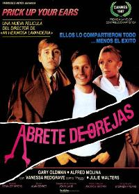 Prick Up Your Ears - 11 x 17 Movie Poster - Spanish Style A