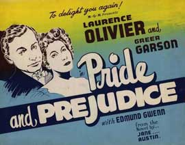 Pride and Prejudice - 22 x 28 Movie Poster - Half Sheet Style A