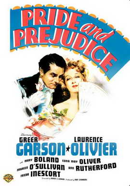 Pride and Prejudice - 11 x 17 Movie Poster - Style E