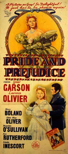 Pride and Prejudice - 20 x 40 Movie Poster - Style A