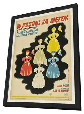 Pride and Prejudice - 27 x 40 Movie Poster - Polish Style A - in Deluxe Wood Frame