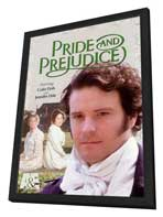 Pride and Prejudice - 27 x 40 Movie Poster - Style A - in Deluxe Wood Frame