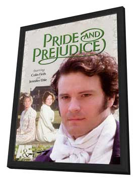 Pride and Prejudice - 11 x 17 Movie Poster - Style A - in Deluxe Wood Frame
