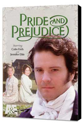 Pride and Prejudice - 27 x 40 Movie Poster - Style A - Museum Wrapped Canvas