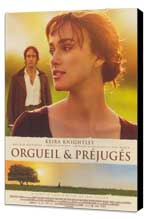 Pride & Prejudice - 11 x 17 Movie Poster - French Style A - Museum Wrapped Canvas
