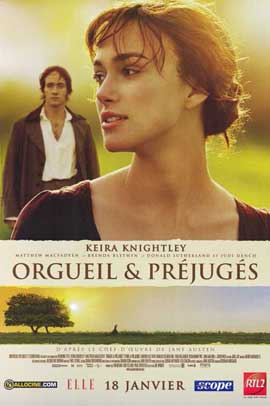 Pride & Prejudice - 11 x 17 Movie Poster - French Style A
