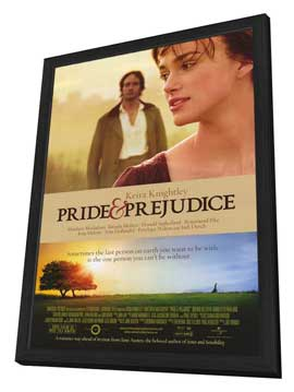 Pride & Prejudice - 11 x 17 Movie Poster - Style A - in Deluxe Wood Frame