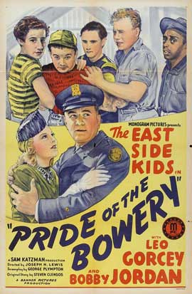 Pride of the Bowery - 11 x 17 Movie Poster - Style A