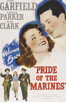 Pride of the Marines - 27 x 40 Movie Poster - Style A