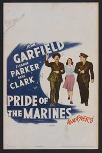 Pride of the Marines - 11 x 17 Movie Poster - Style B