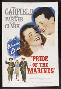 Pride of the Marines - 43 x 62 Movie Poster - Bus Shelter Style B