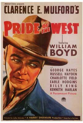 Pride of the West - 27 x 40 Movie Poster - Style A