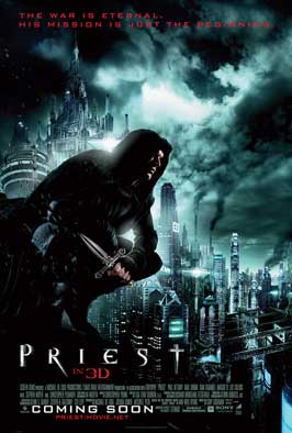 Priest - 11 x 17 Movie Poster - UK Style A
