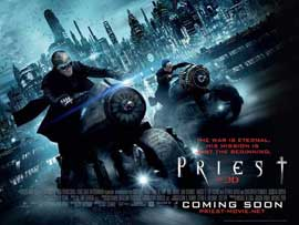 Priest - 27 x 40 Movie Poster - UK Style B