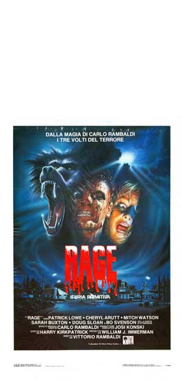 Primal Rage - 11 x 17 Movie Poster - Italian Style A