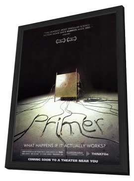Primer - 11 x 17 Movie Poster - Style A - in Deluxe Wood Frame
