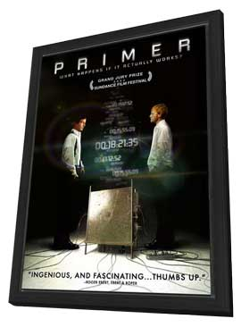 Primer - 27 x 40 Movie Poster - Style B - in Deluxe Wood Frame