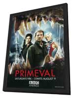 Primeval (TV) - 11 x 17 TV Poster - Style A - in Deluxe Wood Frame