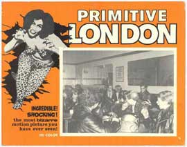 Primitive London - 11 x 14 Movie Poster - Style D