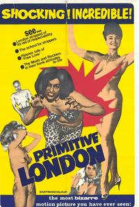 Primitive London - 11 x 17 Movie Poster - Style A