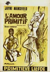 Primitive Love - 11 x 17 Movie Poster - Italian Style A