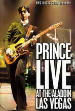 Prince Live at the Aladdin Las Vegas - 27 x 40 Movie Poster - Style A